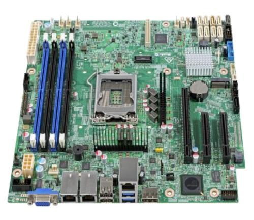 Intel S1200SPSR Intel C236 Micro ATX server/workstation motherboard