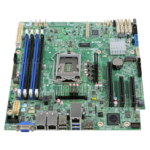 Intel S1200SPSR server/workstation motherboard Intel® C232 microATX