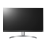 "LG 27UK600-W 27"" 4K Ultra HD LED Flat Black, Silver, White computer monitor LED display"