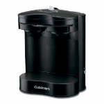 Conair Cuisinart freestanding Pod coffee machine 2cups Black