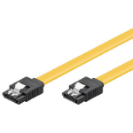 Microconnect SAT15007C6 SATA cable 0.7 m SATA 7-pin Yellow