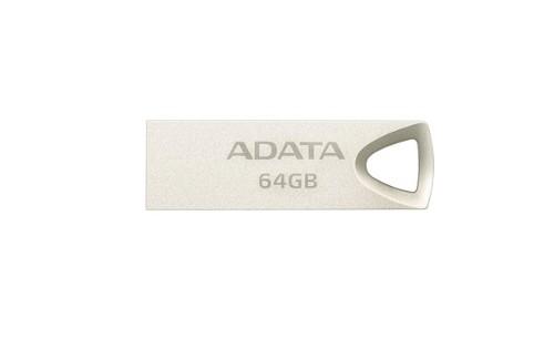 ADATA AUV210-64G-RGD 64GB USB 2.0 USB Type-A connector Beige USB flash drive