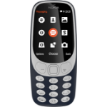 Nokia 3310 2017 2.4 Inch QVGA Display 2MP Camera 16MB Blue