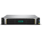 Hewlett Packard Enterprise MSA 1050 disk array 4.8 TB Rack (2U) Black,Stainless steel