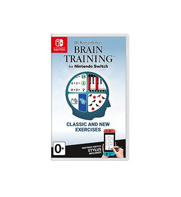 Nintendo Brain Training Dr. Kawashima video game Nintendo Switch Basic English