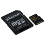 Kingston Technology Gold microSD UHS-I Speed Class 3 (U3) 64GB 64GB MicroSDHC UHS-I Class 3 memory card