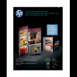 HP Inkjet Glossy Tri-fold Brochure Paper 180 gsm-100 sht/Letter/8.5 x 11 in Inkjet Paper