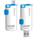 Lexar 16GB JumpDrive M20 16GB USB 3.0/Micro-USB Blue,White USB flash drive