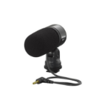 Nikon ME-1 Digital camera microphone Bedraad Zwart