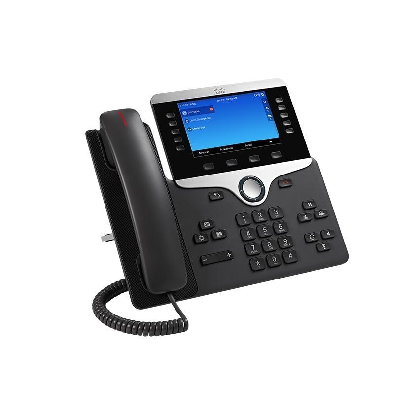 Cisco 8841 IP phone Black, Silver Wired handset