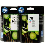 HP Suppl K/HP 45/78 Ink Rainbow Kit 51645A/C6578A