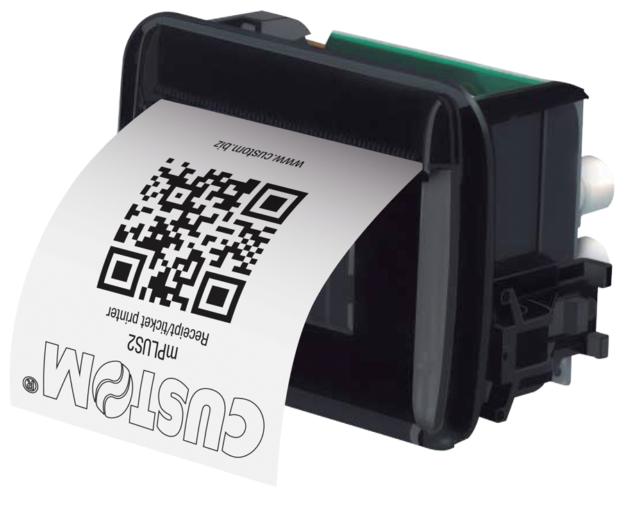 CUSTOM mPLUS2 Thermal POS printer 203 x 203 DPI Wired