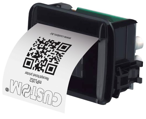 CUSTOM mPLUS2 Thermal POS printer 203 x 203 DPI Wired
