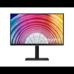 """Samsung LS24A600NWUXXU computer monitor 61 cm (24"""") 2560 x 1440 pixels Wide Quad HD+ LCD Black"""