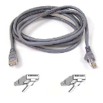 Belkin 3m Cat.6 UTP networking cable Grey Cat6 U/UTP (UTP)