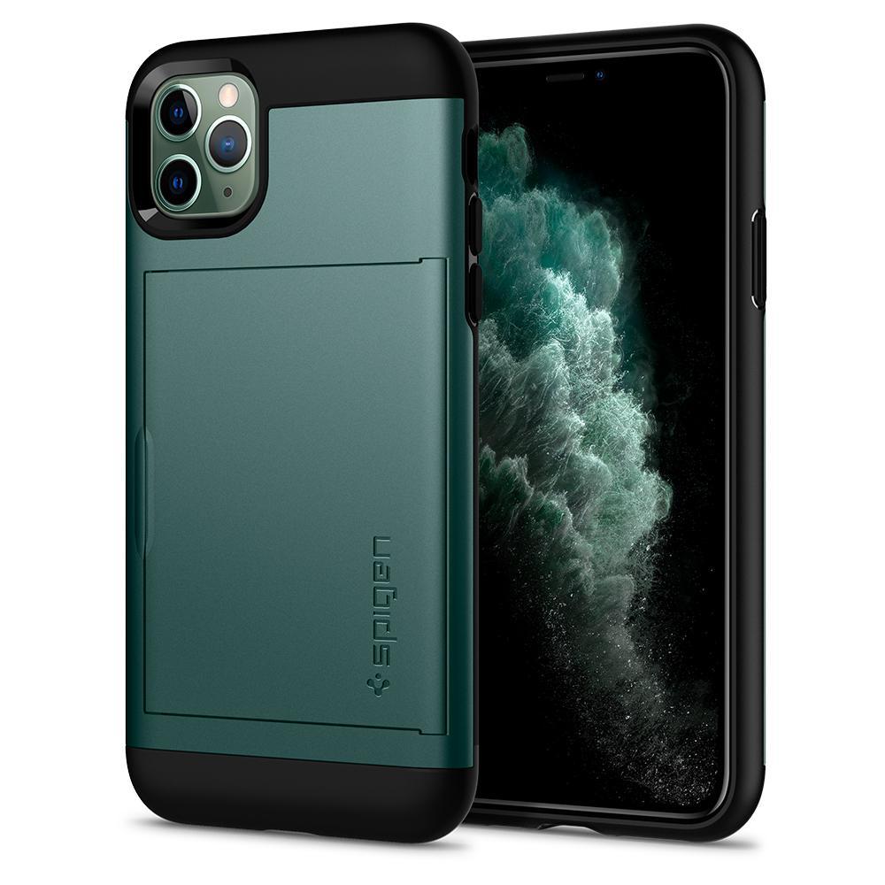 "Spigen ACS00413 mobiele telefoon behuizingen 16,5 cm (6.5"") Hoes Groen"
