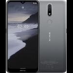 """Nokia 2.4 16.5 cm (6.5"""") Dual SIM Android 10.0 4G Micro-USB 2 GB 32 GB 4500 mAh Charcoal"""
