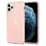 Spigen Liquid Crystal Glitter mobiele telefoon behuizingen Hoes Quartz metallic, Roze