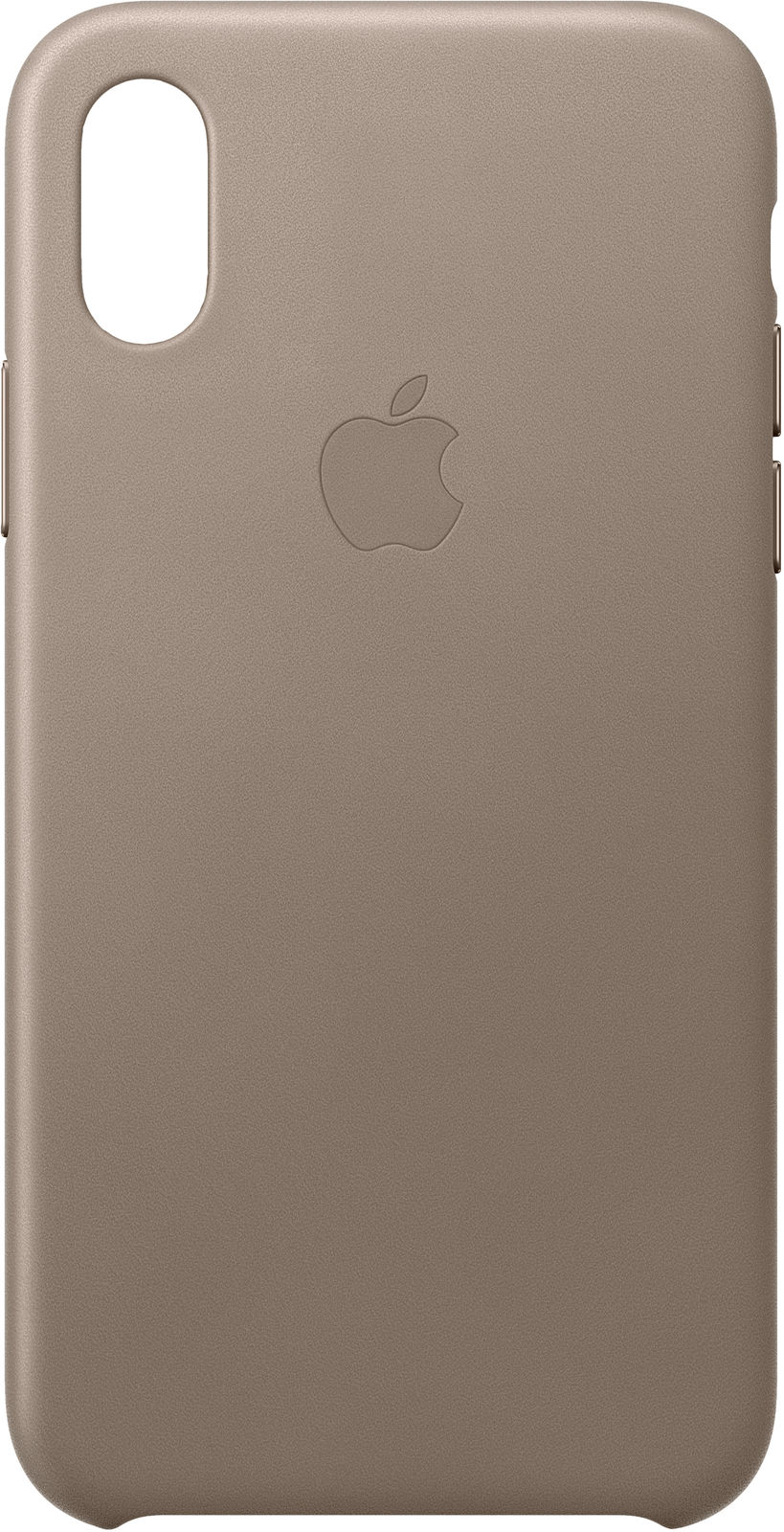 iPhone Xs - Leather Case - Taupe