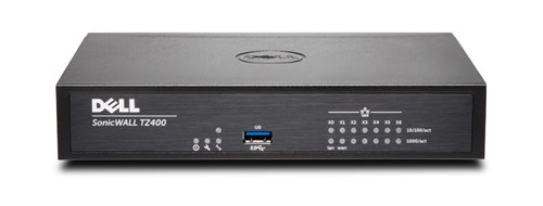 DELL SonicWALL TZ400 + TotalSecure UPG Plus 2Y 1300Mbit/s hardware firewall