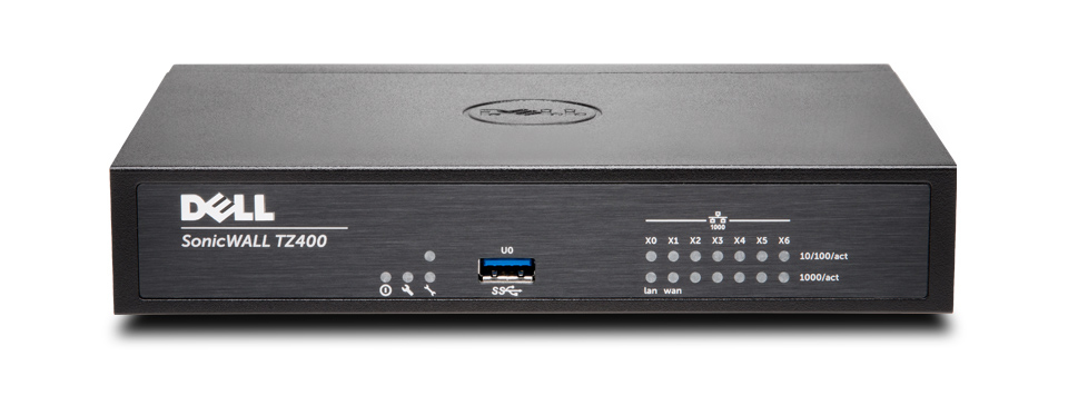 DELL SonicWALL TZ400 + TotalSecure UPG Plus 2Y