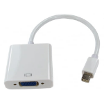 Cables Direct HDMINIDP-VGA015 video cable adapter 0.15 m DisplayPort VGA (D-Sub) White