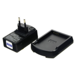 2-Power UPC8013E Indoor battery charger Black battery charger