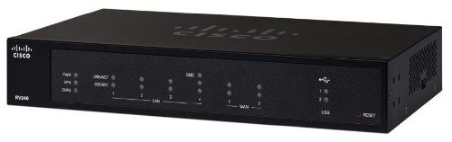 Cisco RV340 wired router Black