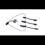 "Liberty DL-AR2126 cable interface/gender adapter Mini-HDMI ""C"", Mini-DisplayPort, USB ""C"" HDMI, HDMI, HDMI Black"