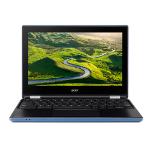 "Acer Chromebook R 11 CB5-132T-C967 1.6GHz N3060 11.6"" 1366 x 768pixels Touchscreen Black,Blue Hybrid (2-in-1)"