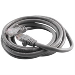 Belkin Cable patch CAT5 RJ45 snagless 2m grey networking cable Cat5e U/UTP (UTP) Gray