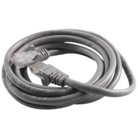 Patch Cable - Cat5e - utp - Snagless - Molded - 2m - Grey