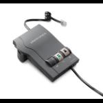 Plantronics Vista M22 headphone amplifier Black