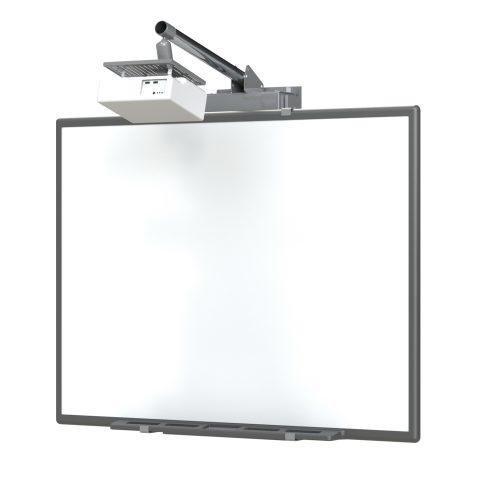 "Loxit 8902 80"" Grey flat panel wall mount"