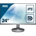 "AOC Value-line I2490VXQ/BT pantalla para PC 60,5 cm (23.8"") 1920 x 1080 Pixeles Full HD LED Plana Gris"
