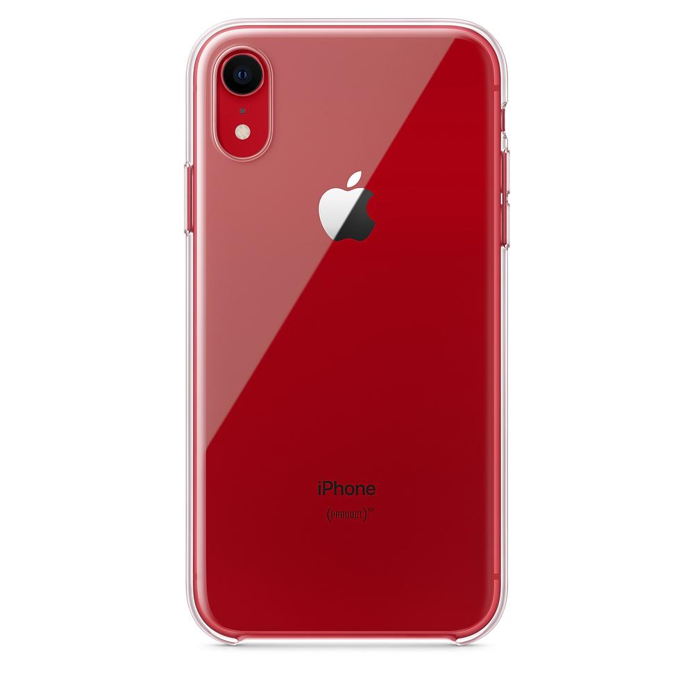 Apple MRW62ZM/A funda para teléfono móvil Transparente