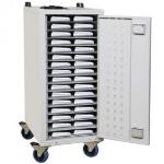 Loxit Lapbank Portable device management cart White