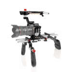 SHAPE A73SM-OF camera rig Aluminium,Wood Black, Red, Silver, Wood