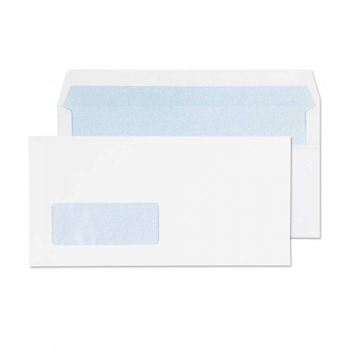 Blake Purely Everyday White Window Self Seal Wallet DL 110x220mm 80gsm (Pack 1000)