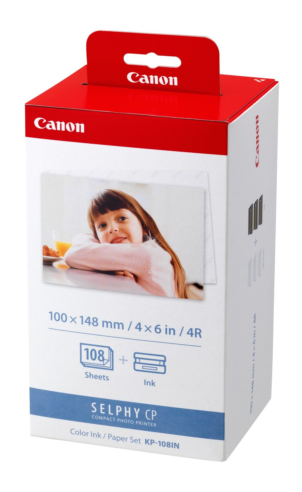 Canon 3115B001 (KP-108 IN) Photo cartridge, 36 pages, Pack qty 3