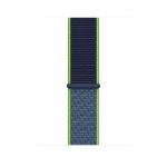 Apple MXMV2ZM/A smartwatch accessory Band Blue, Lime Nylon