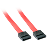 Lindy 33323 SATA cable 0.2 m Red SATA 7-pin