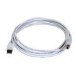 Lexmark USB Type A - USB Type B 2m USB A USB B Male Male White USB cable