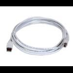 Lexmark USB Type A - USB Type B 2m USB A USB B White USB cable