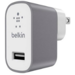 Belkin F8M731DRGRY Indoor Grey,White mobile device charger
