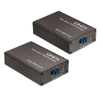 Lindy 38063 AV transmitter & receiver Black AV extender