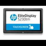 HP EliteDisplay S230tm 23-inch Touch Monitor