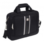 "Urban Factory Mission 35.8 cm (14.1"") Briefcase Black"