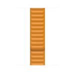 Apple MY9P2ZM/A smartwatch accessory Band Orange Leather