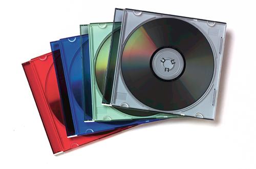 Fellowes 98317 Jewel case 1discs Multicolour
